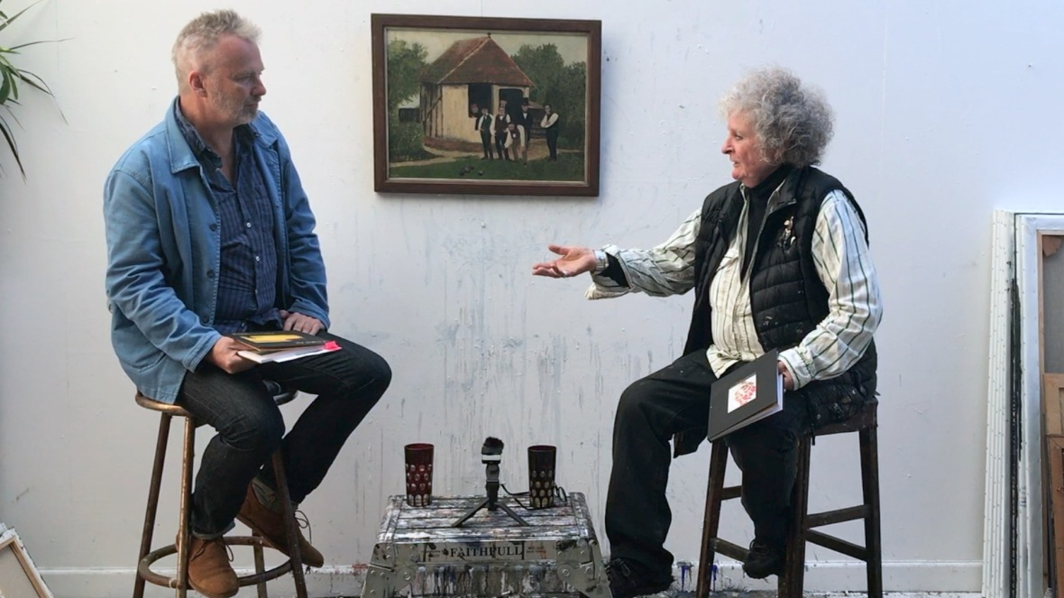 Maggi Hambling and Luke SysonPhoto by Eileen Haring Woods